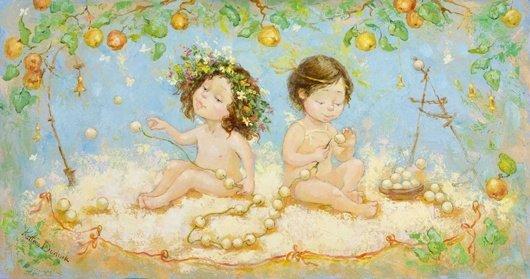 счастливая семья счастливые дети