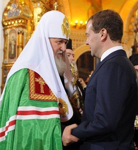 Патриарх главарь православной секты секты с царями земли прелюбодействует