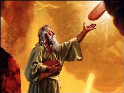 бог говорит с пророком
