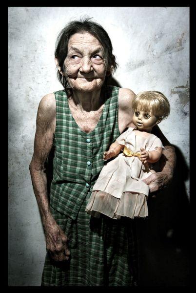 хитрая бабушка