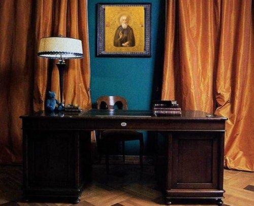 икона в кабинете