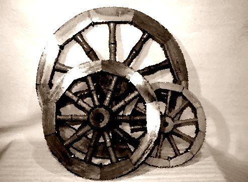 Деревянное колесо телеги Правообладатель . альбома.  Приватные альбомы доступны . . колеса телеги в первую очередь...
