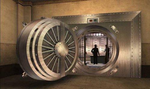 Сейф в банке