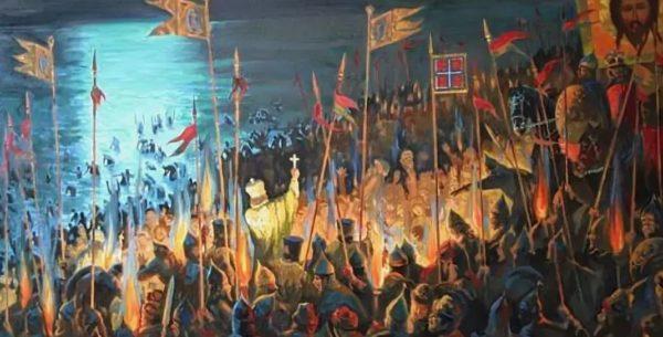 насильное крещение руси