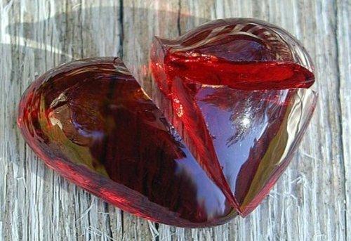 разбтое корыто и сердце