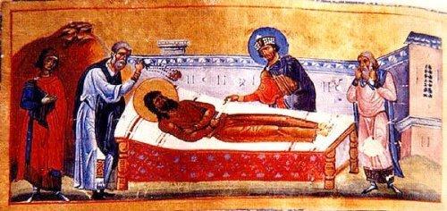 святой Алексий умер
