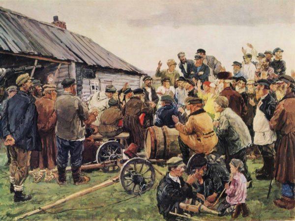 выборы правителя в деревне